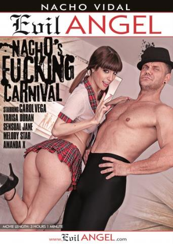 Nacho's Fucking Carnival from Evil Angel: Nacho Vidal front cover