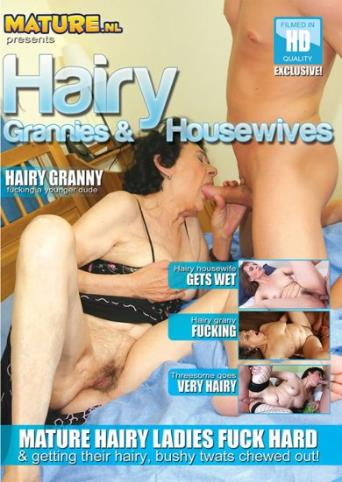 Hairy Grannies And Housewives from Mature front cover