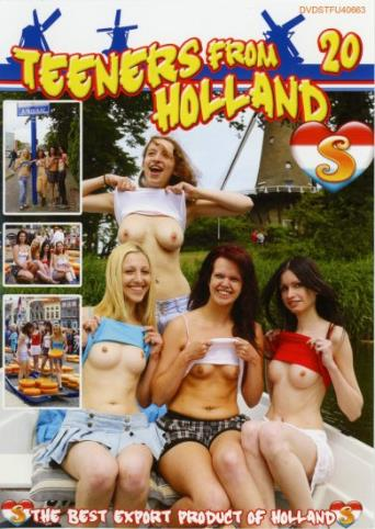 Teeners From Holland 20 from Seventeen front cover
