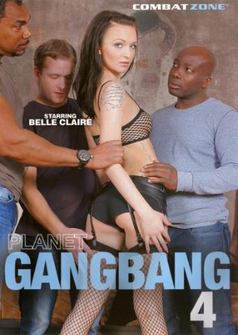 Planet Gangbang 4 from Combat Zone front cover