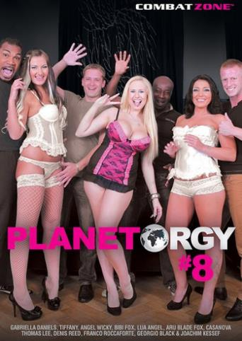 Planet Orgy 8 from Combat Zone front cover