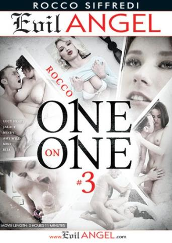 Rocco One On One 3 from Evil Angel: Rocco Siffredi front cover