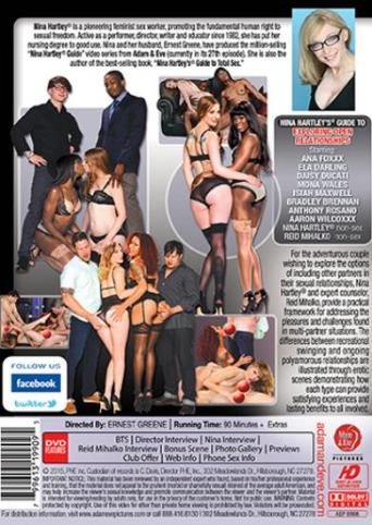 Nina Hartley's Guide To Exploring Open Relationships from Adam & Eve back cover