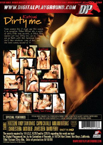Katsuni Dirty Me from Digital Playground back cover