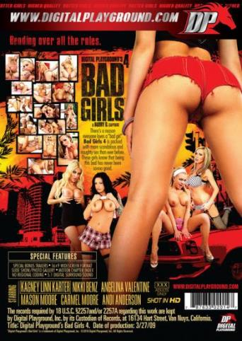 Bad Girls 4 from Digital Playground back cover