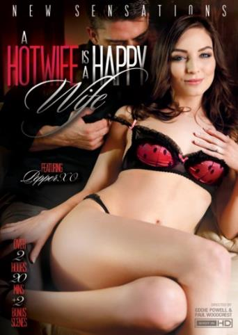 A Hotwife Is A Happy Wife from New Sensations front cover