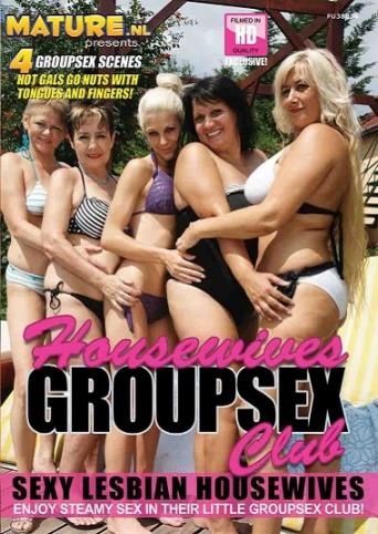 Housewives Groupsex Club from Mature front cover
