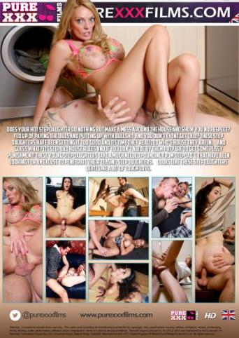 Stepdad Punishment from Pure XXX Films back cover
