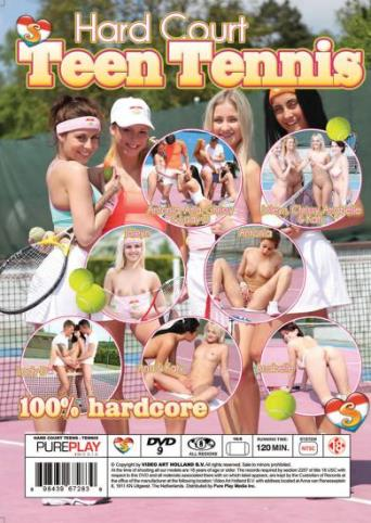 Hard Court Teen Tennis from Seventeen back cover