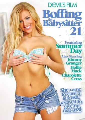 Boffing The Babysitter 21 from Devil's Film front cover