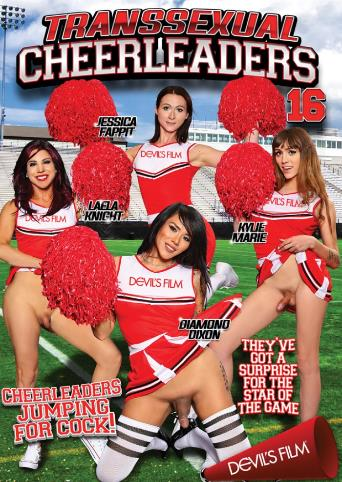 Transsexual Cheerleaders 16 from Devil's Film front cover