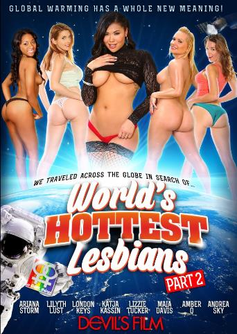 World's Hottest Lesbians 2 from Devil's Film front cover
