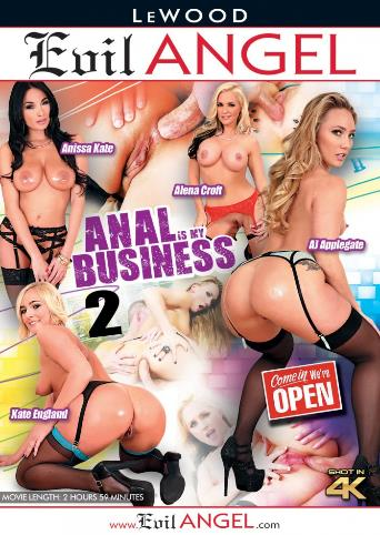 Anal Is My Business 2 from Evil Angel front cover
