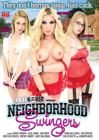 Neighborhood Swingers from Frathouse Films front cover