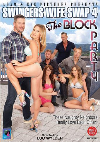 Swingers Wife Swap 4 The Block Party from Adam & Eve front cover