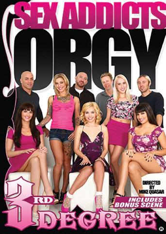 Sex Addicts Orgy from 3rd Degree front cover