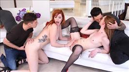 Ginger Orgy Scene 1