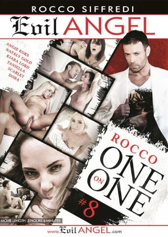 Rocco One On One 8 from Evil Angel: Rocco Siffredi front cover