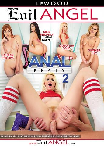 Anal Brats 2 from Evil Angel front cover