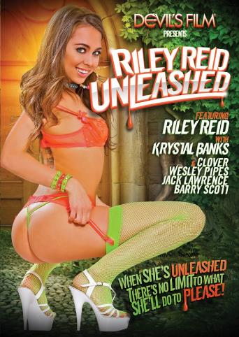 Riley Reid Unleashed from Devil's Film front cover