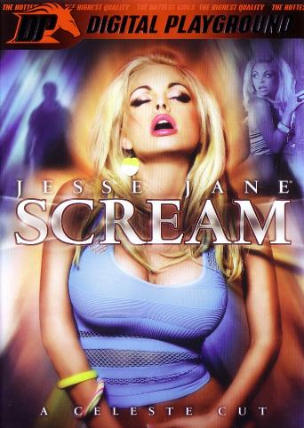Jesse Jane Scream from Digital Playground front cover