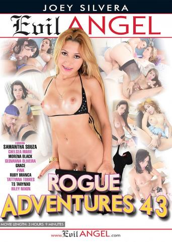 Rogue Adventures 43 from Evil Angel: Joey Silvera front cover