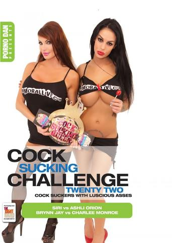 Cock Sucking Challenge 22 from Porno Dan Presents front cover