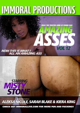 Amazing Asses 12 from Immoral Productions front cover