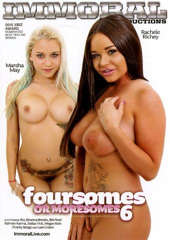 Foursomes Or Moresomes 6 from Immoral Productions front cover