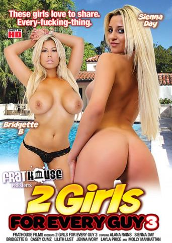 2 Girls For Every Guy 3 from Frathouse Films front cover