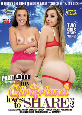 My Girlfriend Loves To Share 2 from Frathouse Films front cover