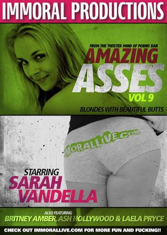 Amazing Asses 9 from Immoral Productions front cover