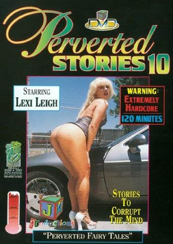 Perverted Stories 10 from JM Productions front cover
