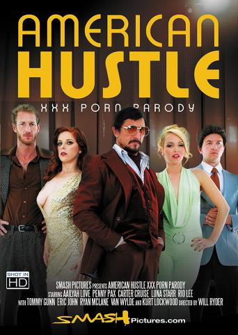 American Hustle XXX Porn Parody from Smash Pictures front cover