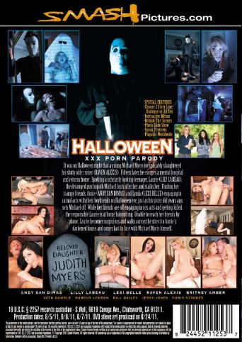 Halloween XXX Porn Parody from Smash Pictures back cover