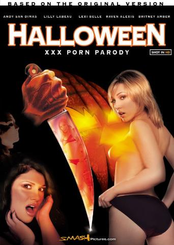 Halloween XXX Porn Parody from Smash Pictures front cover
