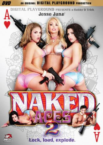 Naked Aces 2 from Digital Playground front cover