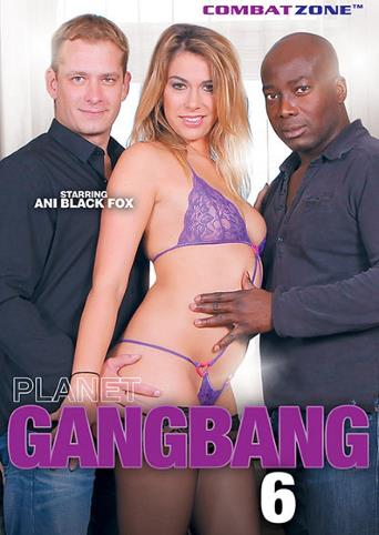 Planet Gangbang 6 from Combat Zone front cover