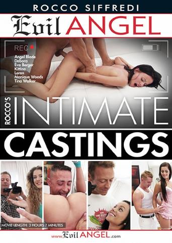 Rocco's Intimate Castings from Evil Angel: Rocco Siffredi front cover