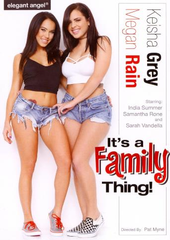 It's A Family Thing from Elegant Angel front cover