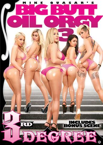 Big Butt Oil Orgy 3 from 3rd Degree front cover