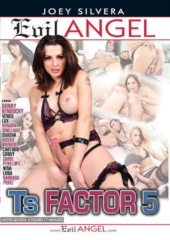 Ts Factor 5 from Evil Angel: Joey Silvera front cover