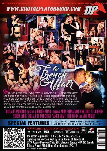 A French Affair from Digital Playground back cover