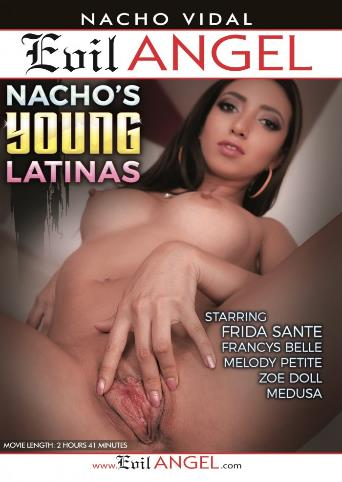 Nacho's Young Latinas from Evil Angel: Nacho Vidal front cover