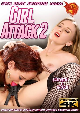 Girl Attack 2 from Little Dragon Pictures front cover