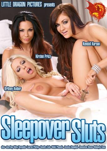 Sleepover Sluts from Little Dragon Pictures front cover
