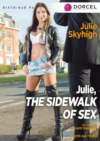 Julie The Sidewalks Of Sex from Marc Dorcel front cover