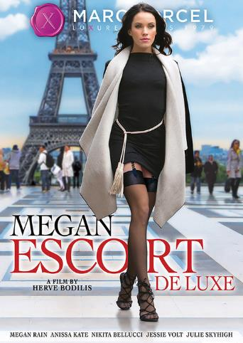 Megan Escort Deluxe from Marc Dorcel front cover