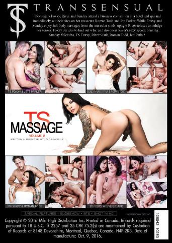 Ts Massage 2 from Transsensual back cover