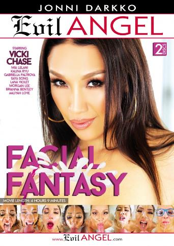 Facial Fantasy from Evil Angel: Jonni Darkko front cover